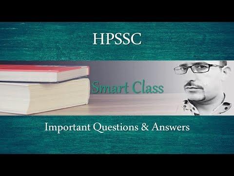 #26 Smart Class: HPSSSB Previous Paper in Hindi   MCQ   Q&A   HPSSC   HPBOSE   HPTET   Zero2ninE
