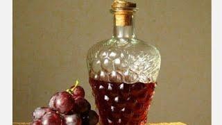 Винный уксус готовим дома просто. Уксус готов,сливаю винный уксус . 2 часть.