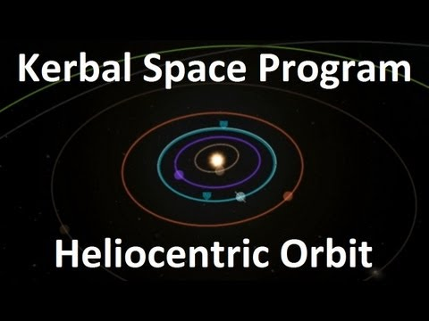 Kerbal Space Program - First Heliocentric Orbit ...