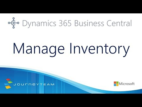 Tips to Manage Inventory in Microsoft Dynamics 365 Business Central