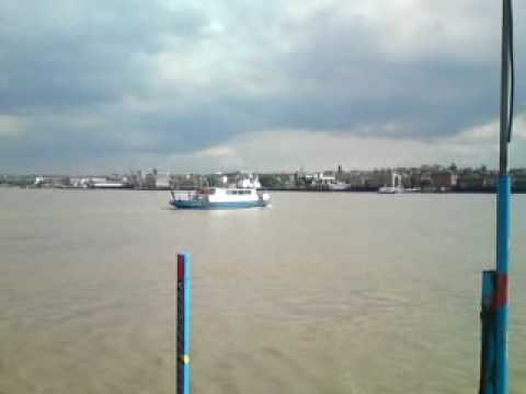 Down By The River Thames, Ferry Crossing, Between Tilbury ESSEX Gravesend KENT