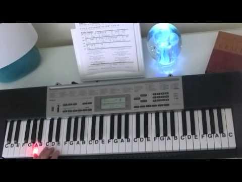 How To Play Seek Ye First Key Of D Gospel Chorus Piano