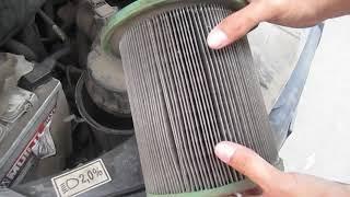 Замена воздушного фильтра на газель