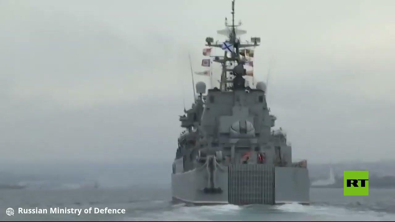البحرية الروسية تجري تدريبات في البحر الأسود  - نشر قبل 2 ساعة