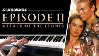 Across the Stars (Love Theme) from Star Wars Episode II - Piano Cover + SHEET MUSIC