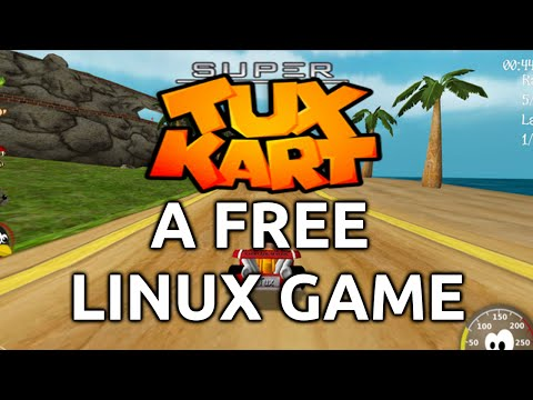 Super Tux Kart! - A FREE Linux game.