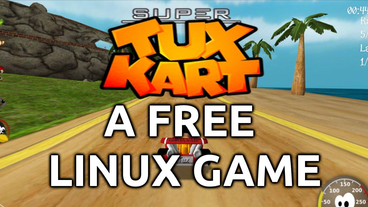 jeux de super tux kart