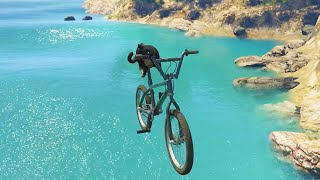 CAT FLIES A BIKE? | GTA 5 PC Mods #3