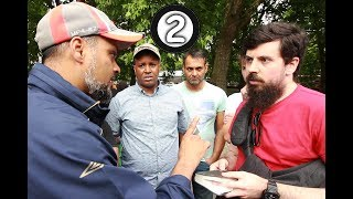 Is the Messiah Allowed To Be Worshipped in Old Testament - Hashim vs Christian | Speakers Corner