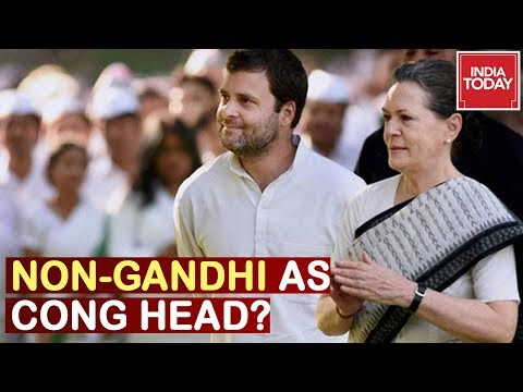 Congress Floats: Don't Choose A Gandhi? Public Talks | Mood Of The Nation Poll  2019