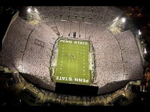 Penn State FOOTBALL whiteout hype(pump up) video 2017 ...
