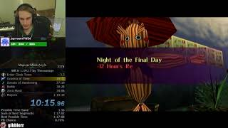 The Legend of Zelda: Majora's Mask Any% Speedrun (1:19:30)