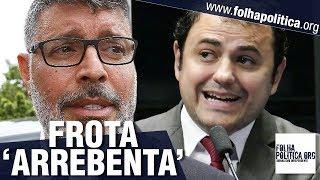 Alexandre Frota perde a paciência e 'arrebenta' deputados que tentaram denegrir Bolsonaro