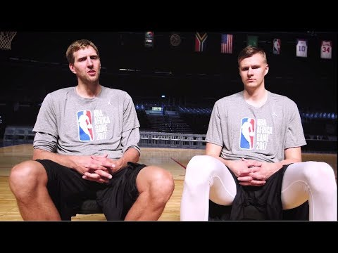 Dirk Nowitzki & Kristaps Porzingis:  The Sit-Down
