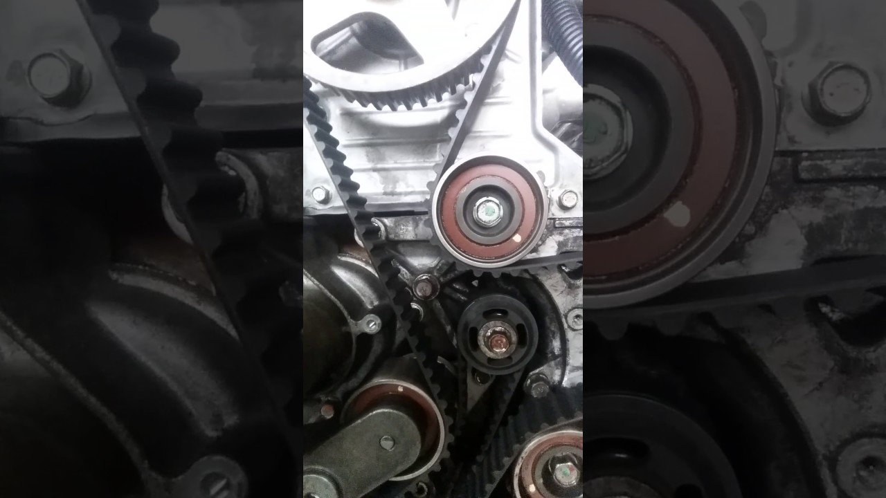 Timing belt mitsubishi triton 25 (part 2)  YouTube