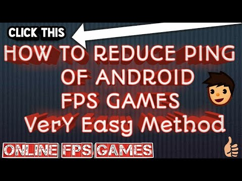 How to Reduce PinG(MS) for All FPS Games ANDROID(No  Root)(99 9%working)(Easy:Free) with proof(2018)