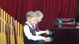 Скачать Н Выгодский Вариации на тему Паганини исполняют Илья и Даниил Шуваловы