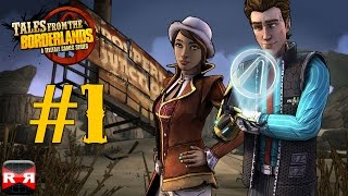 Tales from the Borderlands Episode 1: Zer0 Sum - iOS / Android - Walkthrough Gameplay Part 1