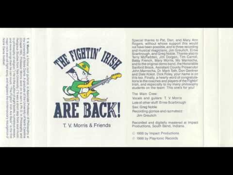 The Fightin' Irish Are Back by T.V. Morris & Friends (1988)