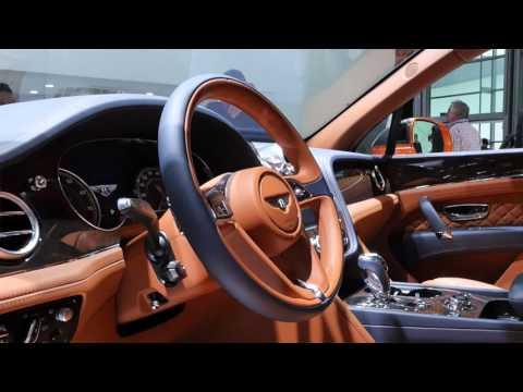 Bentley Bentayga Франкфурт 2015 АвтоВести Online