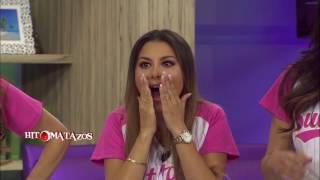 Paulina Rubio se cae en Campeche