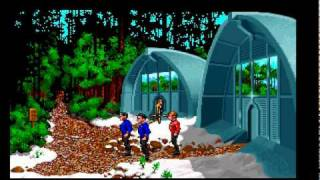 Amiga Game - Star Trek 25th Anniversary (Intro + Mission 1)