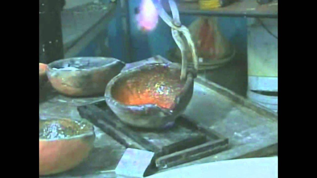 Estimulaci n temprana observa como se funde el oro youtube for Como se cocinan las gambas