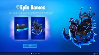 *NEW* FREE ICE STORM REWARDS & CHALLENGES! (Fortnite Ice Storm Event Rewards)