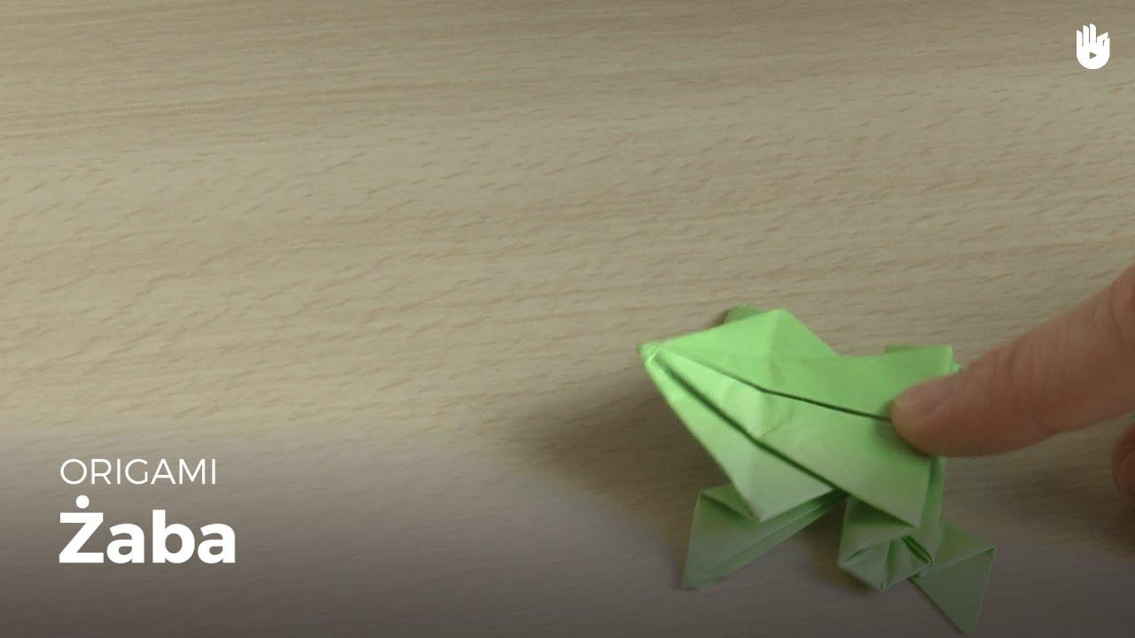 Origami grenouille youtube - Origami grenouille sauteuse pdf ...
