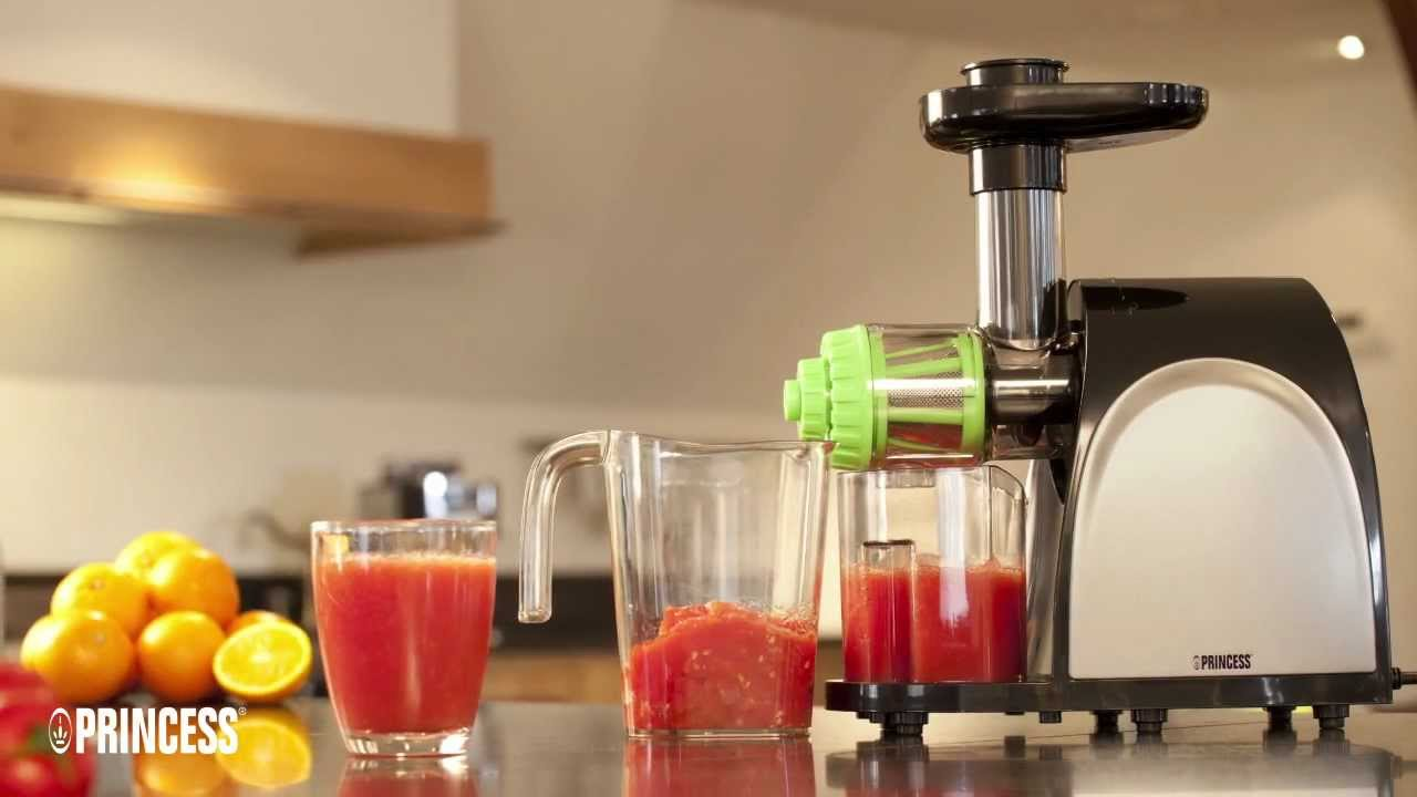 Princess Vitapure Slow Juicer Review : Princess Slow Juicer - YouTube