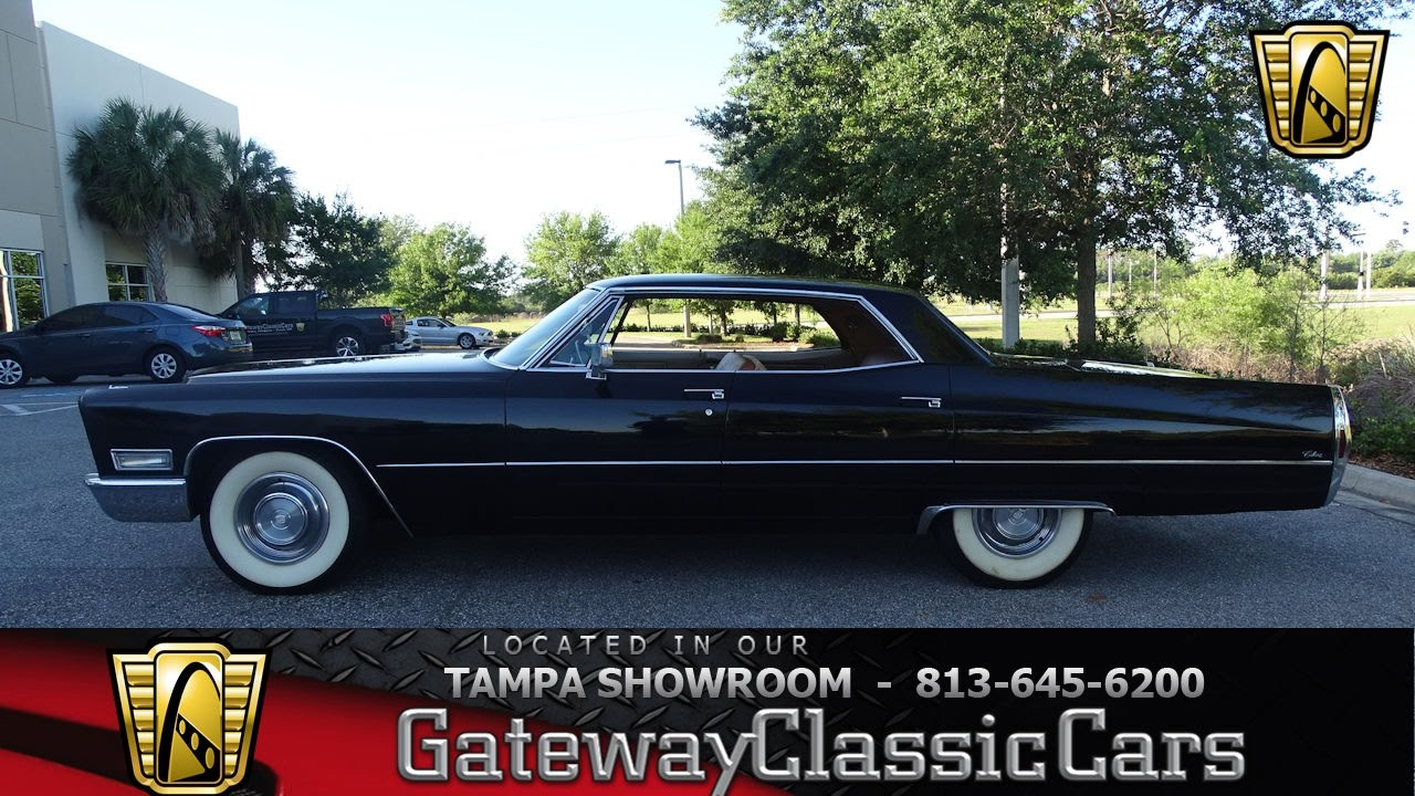 893 Tpa 1968 Cadillac Calais 7 4 L V8 Bigblock Automatic Youtube