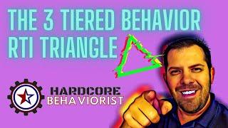 Hardcore Behaviorist | The 3 Tiered Behavior RtI Triangle