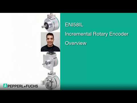 Overview ENI58IL Incremental Rotary Encoder