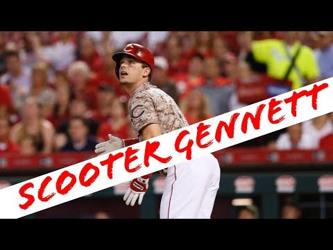 Scooter Gennett 2017 Highlights [HD]