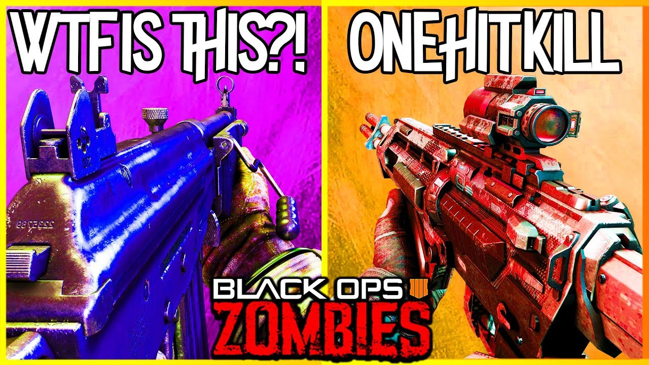 Top 5 Guns In Black Ops 4 Zombies Ix Voyage Of Despair Blood Of The Dead Cl Ified