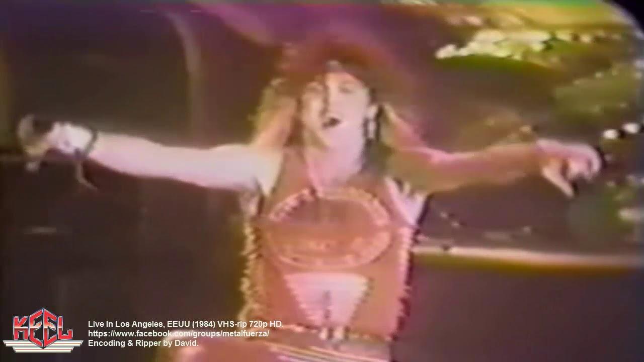 KEEL  Live In Los Angeles  EEUU  1984  VHS-rip 720p HD