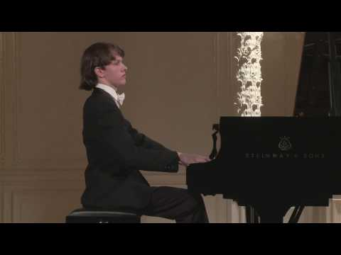 Arseny Gusev (piano) English Hall of St. Petersburg Music House 2016-06-15