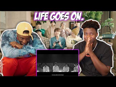 BTS (방탄소년단) 'Life Goes On' Official MV (REACTION)