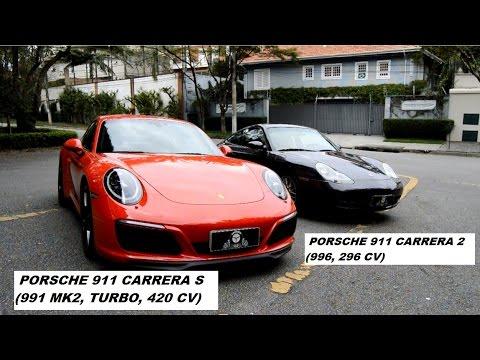 Garagem do Bellote TV: Porsche 911Carrera S (991) X 911 Carrera (996)