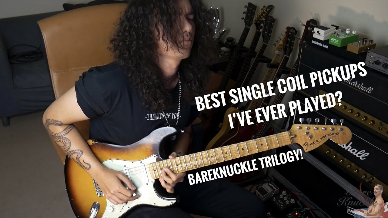 Bareknuckle 'Trilogy' play through - Best Single Coils I've EVER PLAYED?
