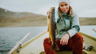 """""""Jag kan egentligen inte fiska"""" - Eva Bromée"""