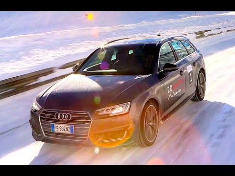 new audi a4 avant 3 0 tdi 272 cv 2016 first winter test drive youtube. Black Bedroom Furniture Sets. Home Design Ideas