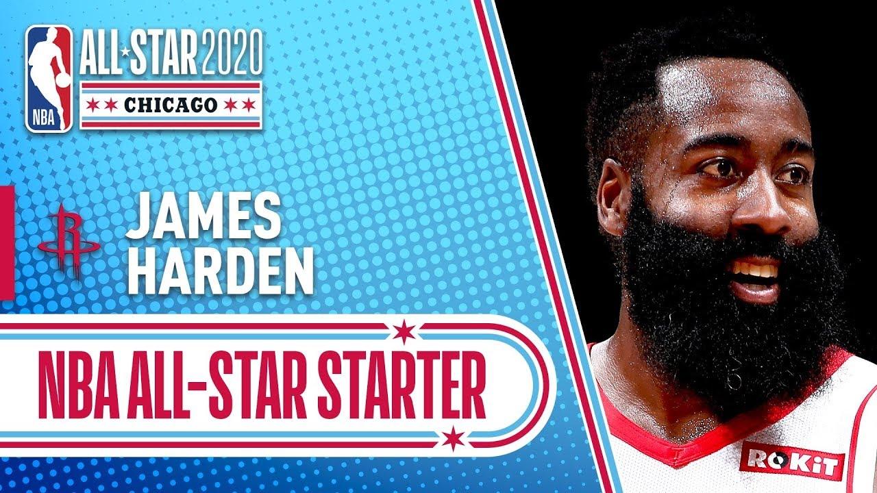 James Harden 2020 All-Star Starter | 2019-20 NBA Season