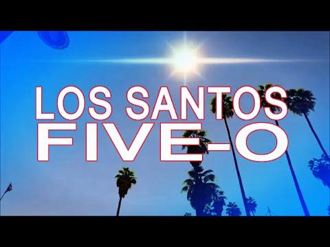 CBS TV「HAWAII  FIVE-O」Mein Theme~Los Santos Ver【GTA5】