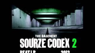 Rap Instrumental - The Basement - Sourze Codex 2 Beat LP (2012)