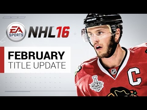 NHL 16 February Title Update – NEW EASHL CLASS, NEW JERSEYS, GAMEPLAY UPDATES