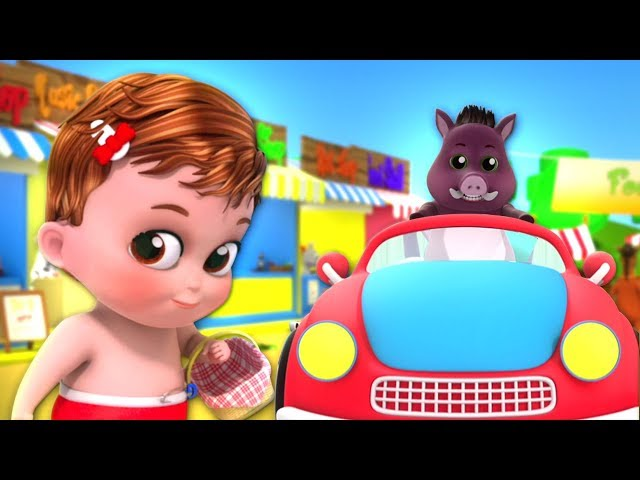 To Market To Market | Kindergarten Nursery Rhymes For Children | Cartoon Song by Farmees