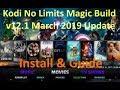 No Limits Magic Build V12.1 Install & Guide March 2019 UPDATE (kodi 17.6)