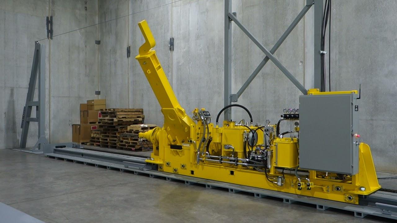Calbrandt Dual Coupler Arm Indexer-Railcar Mover