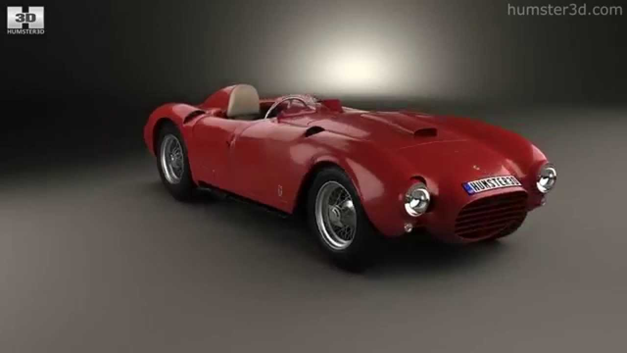 Lancia D24 Pininfarina Spider Sport 1953 by 3D model store Humster3D ...